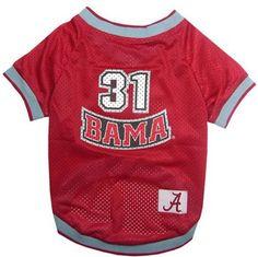 Alabama Football Pet Jersey