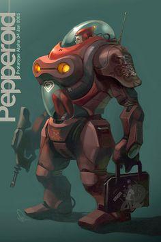 Pepperoid Alpha by `Artgerm on deviantART