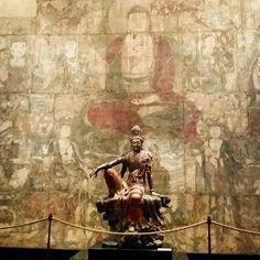 Guanyin of the Southern Sea Mahayana Buddhism, Tibetan Art, Buddha Art, Religious Images, Guanyin, Sacred Art, Ancient Art, Chinese Art, Asian Art