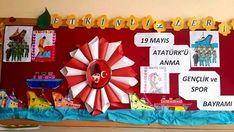 19 Mayıs Atatürk'ü Anma Gençlik ve Spor Bayramı Pano Örnekleri - İlkokul Dökümanları