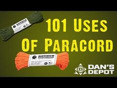 101 Uses of Paracord - Survival, Homesteading and Zombies