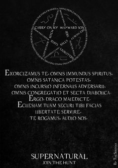Supernatural Wallpaper - Exorcism by TheShaddix on DeviantArt                                                                                                                                                                                 Mehr