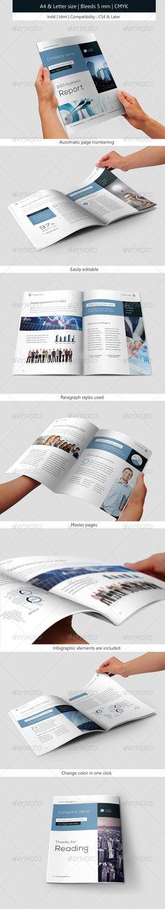 Corporate & Business Brochure IndesignTemplate