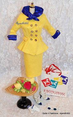 Barbie Doll Friends Silkstone Muse San Francisco City Fashion Set Only | eBay