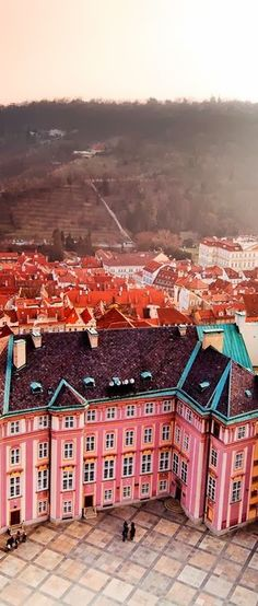 The Czech Republic - Prague is one beautiful and colorful city. #Prague #Czech