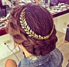 How to Chic: GOLDEN HEADBAND