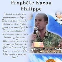 TOUT LE LIVRE DU PROPHETE KACOU PHILIPPE (127 CHAPITRES) EN...