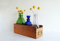 Vintage Wood Drawer  Repurposed Display / by GrannyPantyDesigns, $14.00