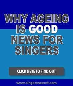 Getting older is good news for singers - here's why: http://singerssecret.com/ageing-and-singing/ #singingtips #singing #howtosing