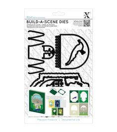 Xcut Build-A-Scene 6pcs Dies-Shadow Box Formal Garden