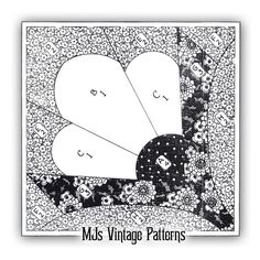 Vintage Mail Order Quilt Pattern ~ Grandmother's Choice ~ 1930s Depression Era