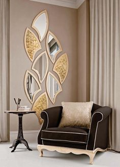 There are many different mirror designs. You will find below a few examples. We share with you, decorative mirrors in this photo gallery.