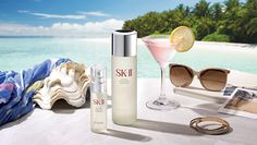 빛나는 여름 피부를 위한 팁 Summer Skin, Perfume, Skin Care, Cosmetics, Product Advertising, Fragrances, Beauty Products, Banner, Photography