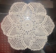 Vintage Pineapple Doily Part 1