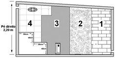 Como escolher minha sauna | Arco-Iris Piscinas Sauna A Vapor, Saunas, Sauna Seca, Sauna Steam Room, Floor Plans, Water Droplets, Tiling, Bow Braid, Filing Cabinets