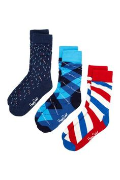 David likes any kind of fun design socks. This brand, Happy Socks, is often on sale at TJ Maxx or Nordstrom Rack.