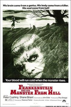 Frankenstein y el monstruo del infierno  (1974). Frankenstein and the Monster from Hell. Dir: Terence Fisher
