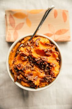 Whipped Sweet Potatoes +chili
