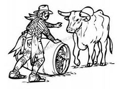 Rodeo Clown Coloring Pages - Bing images
