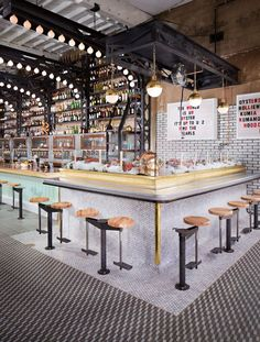 Tour This Incredible Industrial Seafood and Raw Bar