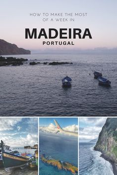 "Madeira is a wonderful island worth discovering. Here's an itinerary to make the most of the ""Pearl of the Atlantic"" even if you only have a week to do it."