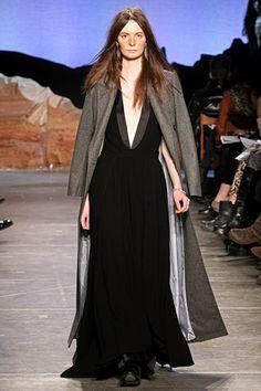 Fall 2012 RTW, Designer: Band of Outsiders, Model: Suzie Bird