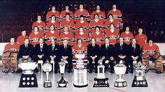 The Montreal Canadiens: Ranked as the greatest non all star hockey team in history. Stars Hockey, Hockey Puck, Hockey Teams, Ice Hockey, Hockey Stuff, Sports Teams, Team Pictures, Team Photos, Montreal Canadiens