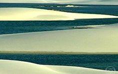 Lençóis Maranhenses têm dunas de areia branca e lagoas cristalinas