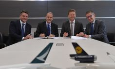 Cathay Pacific and Lufthansa Cargo to join their networks - http://www.logistik-express.com/cathay-pacific-and-lufthansa-cargo-to-join-their-networks/
