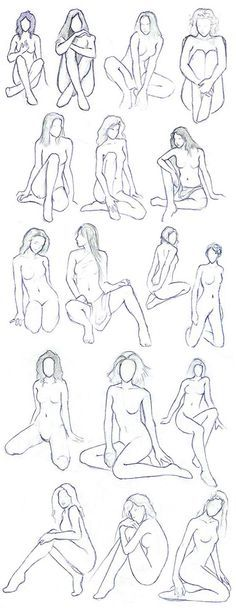 Fairy Poses-- love this! I never have a decent reference for the pose when drawing fairies! This is perfect!
