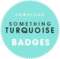 Download Something Turquoise Badges