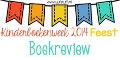 Juf-Stuff: Boekreview - Kinderboekenweek 2014 Feest