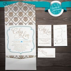 Invitación Boda Celia & Leo #boda #invitaciones #novia, #bride #wedding  #DiseñoDeEmociones #TiendaDeEmociones #Emociones #Veracruz #BocaDelRio #WeddingInvitation #desing #Diseño #Paper #LovePaper #Papel #social #EventoSocial #Participaciones #Artesanal