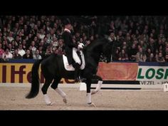 Painted Black ridden by Hans Peter Minderhoud