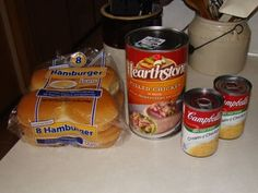 Fast and Easy Shredded Chicken Sandwiches - Instructables Shredded Chicken Sandwiches, Shredded Chicken Recipes, Easy Chicken Recipes, Chicken Quesadillas, Canned Chicken, Cream Of Chicken Soup, Creamed Chicken, Sandwich Recipes, Snack Recipes