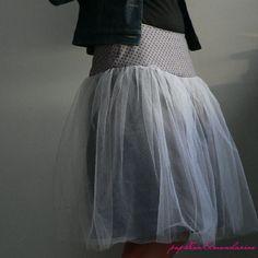 Patron-tuto en photos du la jupe Swan de Papillon et Mandarine