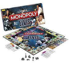 Monopoly Elvis Presley   Juegos de Mesa y de Tablero