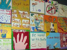 Bully Free project at North Lake Tahoe Boys n Girls Club