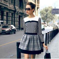 83107f384e Vestido retrô estampa xadrez produzido por mercadojoiarara no AIRU Roupa  Xadrez