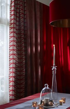 suspension en tissu corto rubis int rieur cuivre collection heytens heytens n mes pinterest. Black Bedroom Furniture Sets. Home Design Ideas