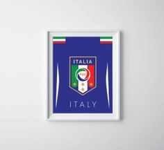 World Cup Poster Italy by XiroShop on Etsy, $8.99