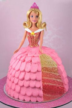 How To Make a 'Sleeping Beauty' Cake: Every Little Girl's Favourite. My Cupcake Addiction cook Elise Strachan shows us how to make this fabulous cake.