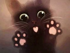 ImageFind images and videos about cute, cat and kawaii on We Heart It - the app to get lost in what you love. Pet Anime, Anime Animals, Kittens Cutest, Cats And Kittens, Cute Cats, Cats Bus, Cute Baby Animals, Animals And Pets, Chat Kawaii