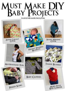 DIY Baby stuff - maybe ask auntie mal to make me a moby wrap next time round
