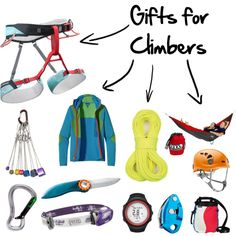 Looking for gifts for climbers? Climbing Sale ends today: http://www.rockcreek.com/climbing-gear-sale.rc