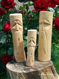 Woodworking with easy wood projects plans is a great hobby but we show you how to get started with the best woodworking plans to save you stress & cash on your woodworking projects Wood Carving Faces, Dremel Wood Carving, Wood Carving Designs, Wood Carving Patterns, Wood Carving Art, Wood Patterns, Wood Art, Whittling Patterns, Whittling Projects