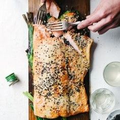 Plank-Grilled Miso Salmon - EatingWell.com