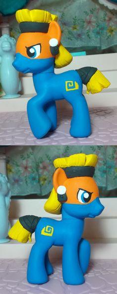My Little Pony Temple pony Daring Don't by SanadaOokmai.deviantart.com on @DeviantArt