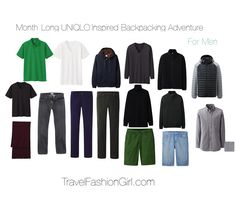 Travel blogger Alex from www.travelfashiongirl.com lists the #ULD coat among backpacking essentials for men.