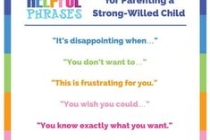 Use these 9 miracle phrases when dealing with a strong willed child to immediately build connection and end power struggles. #parentingtipsstrongwilledchild